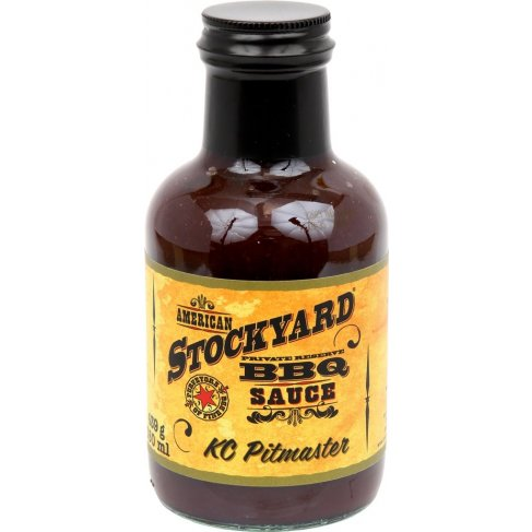 BBQ omáčka Stockyard KC Pitmaster, 350 ml