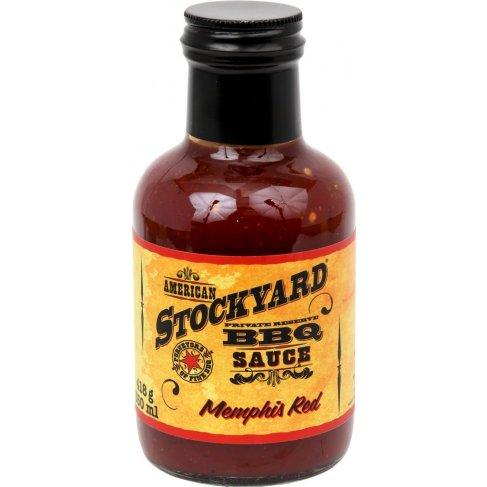 Stockyard Memphis Red BBQ Sauce, 350ml