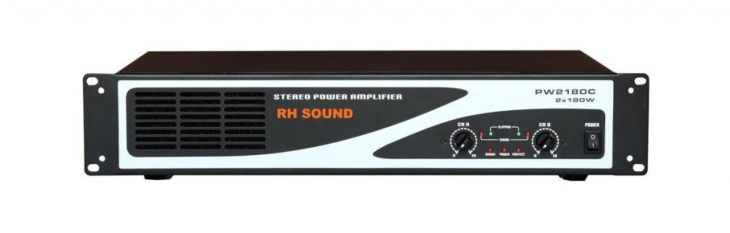 RH sound PW 2180 výkonový zesilovač
