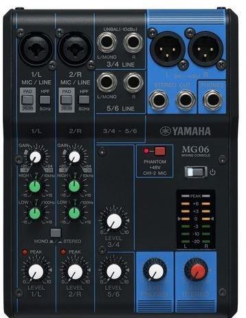 YAMAHA MG06 mix pult