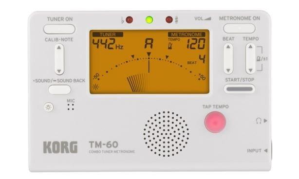 Korg TM-60C WH