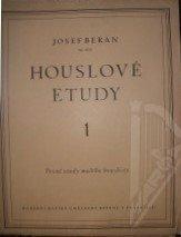 Beran Josef: Houslové etudy op.16/a 1.sešit