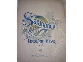 Vacek Jaroslav Václav: Sarabanda op.28a