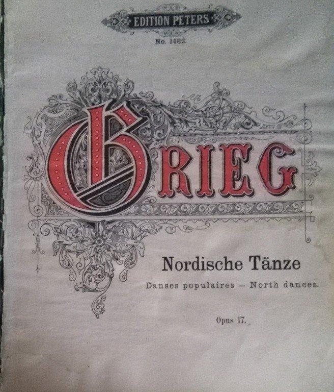 Grieg Edvard: Nordische Tänze op.17