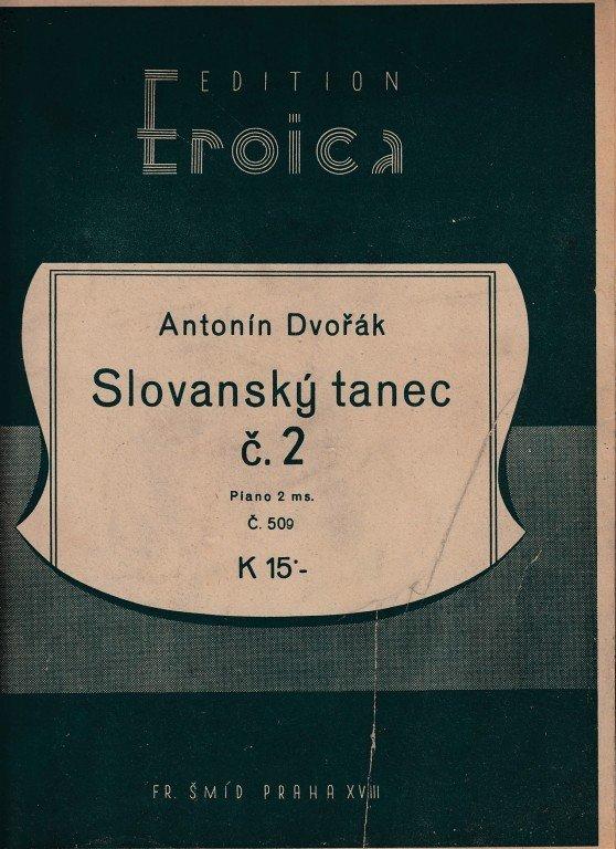 Dvořák Ant.: Slovanský tanec č. 2 /2.exempl.