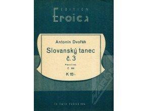 Dvořák Ant.: Slovanský tanec č.3