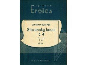 Dvořák Ant.: Slovanský tanec č.4