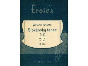 Dvořák Ant.: Slovanský tanec č.5