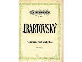 Bartovský Jos.: Klavírní půlhodinka /2.exemplář