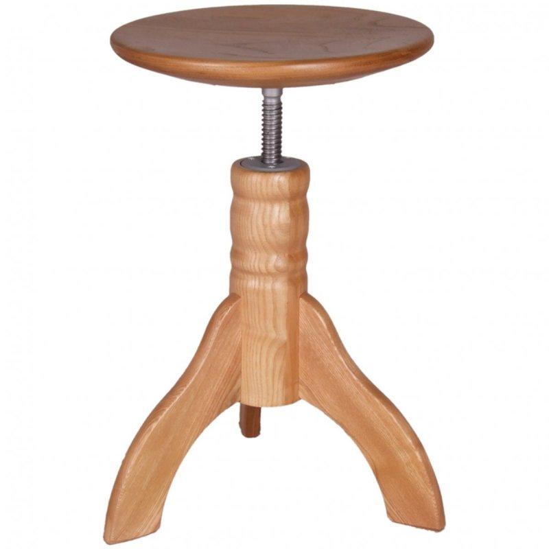 HNS Klavírní židle natural 3 nohy