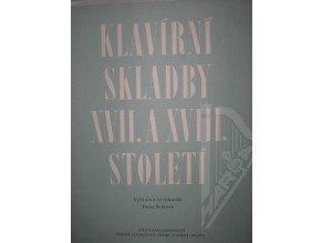 Klavírní skladby XVII.a XVIII.století