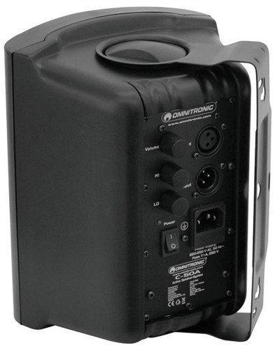 Omnitronic C-50A černé, P Á R reproboxy 80W