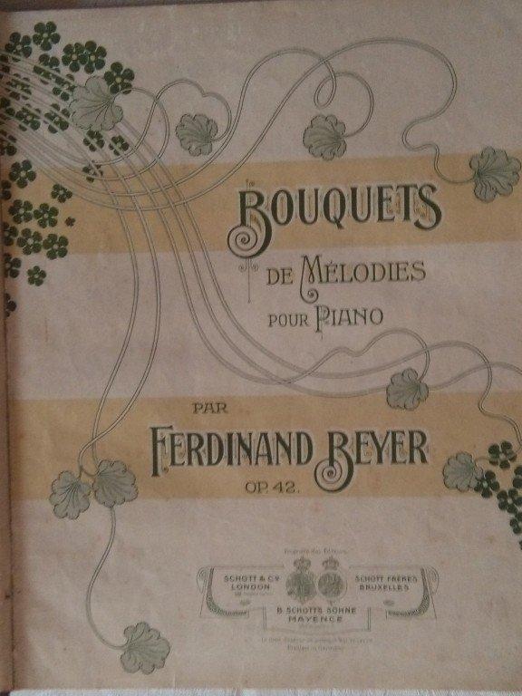 Beyer Ferdinand: Bouquets de Mélodies pour Piano op.42