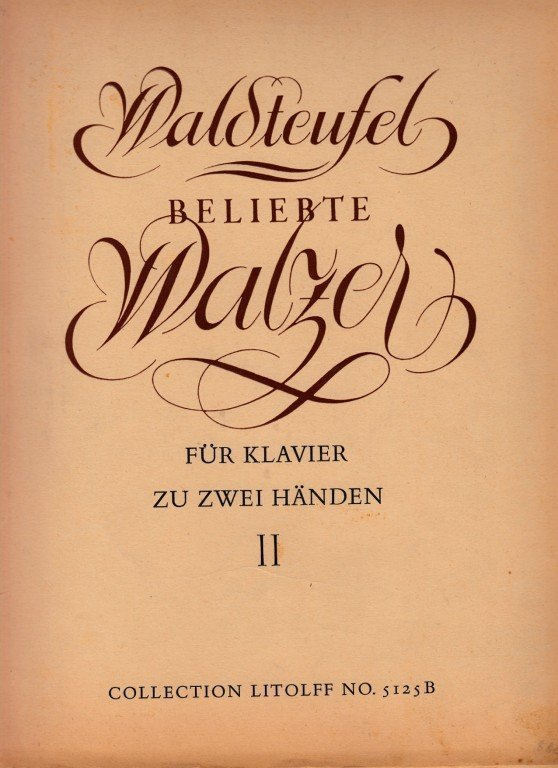 Waldteufel Emil: Beliebte Walzer - II.díl