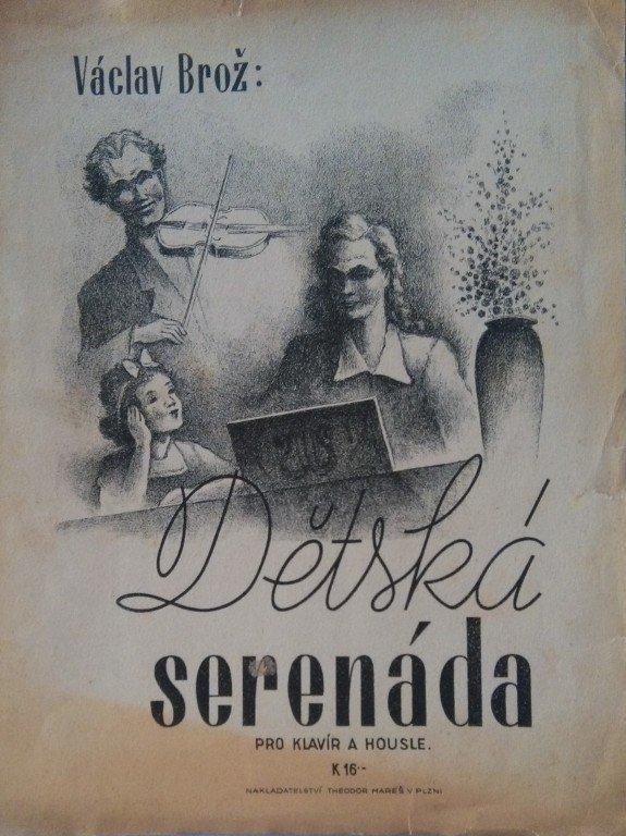 Brož Václav: Dětská serenáda pro housle a klavír