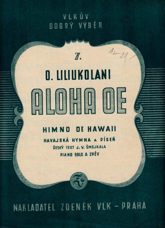 Liliukolani Q.: Aloha Oe - himno de Hawaii
