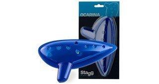 Stagg OCA-PL RD, okarína modrá