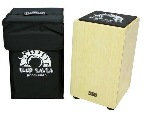 Gewa Salsa club Cajon bříza s pouzdrem