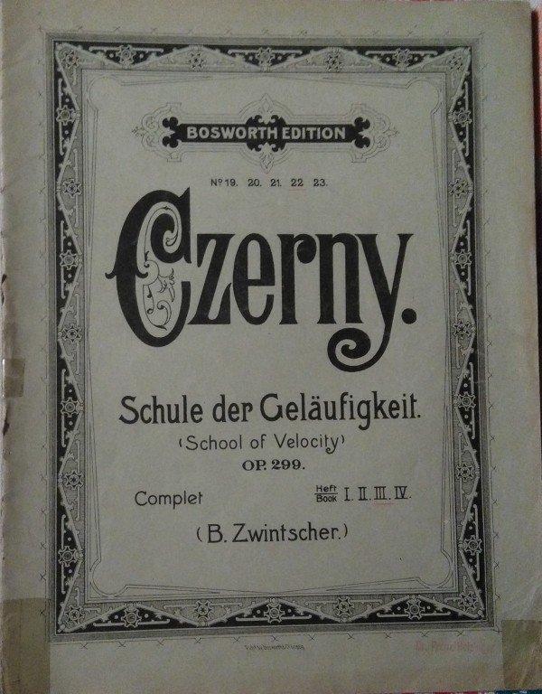 Czerny Carl: Schule der geläufigkeit op.299 III. sešit