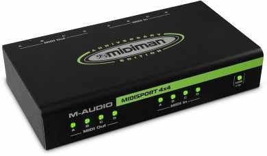 M-Audio MIDISPORT 4x4 20thE