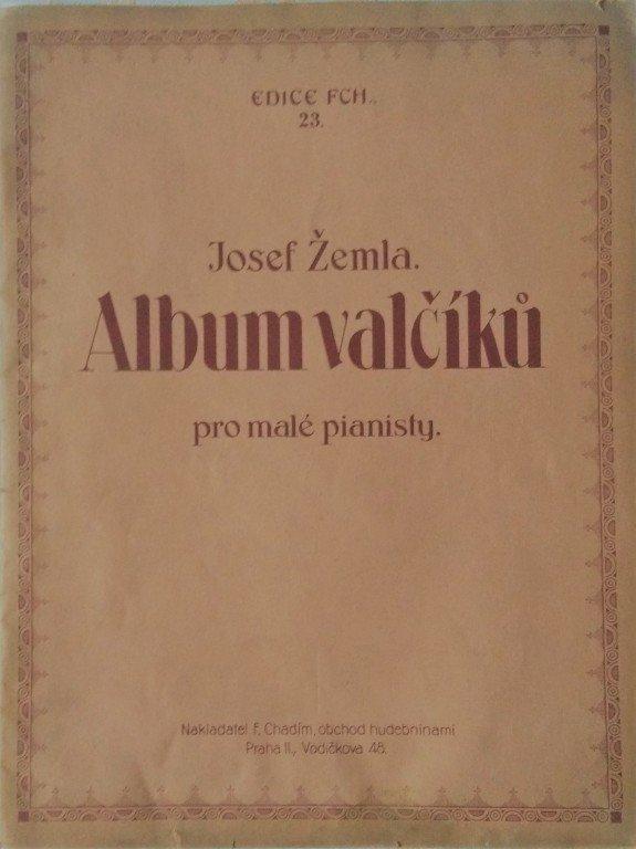 Žemla Josef: Album valčíků pro malé pianisty