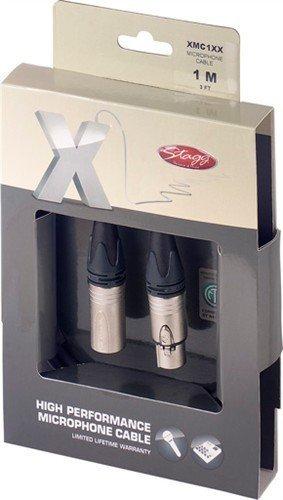 Stagg XMC1XX mikrofonní kabel