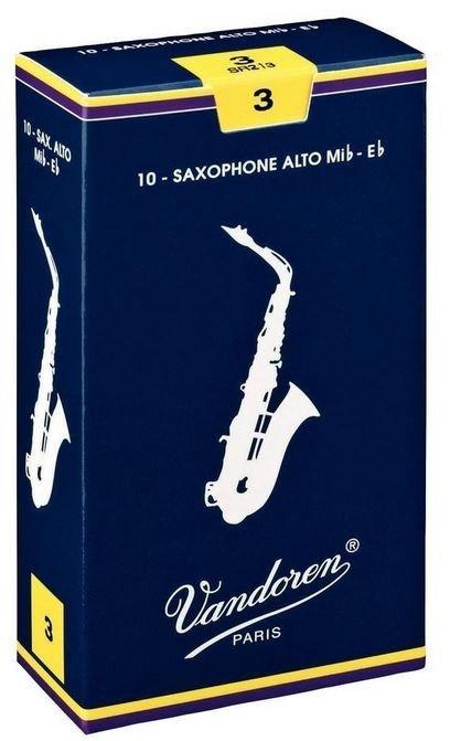 Vandoren Classic alt saxofon tvrdost 3