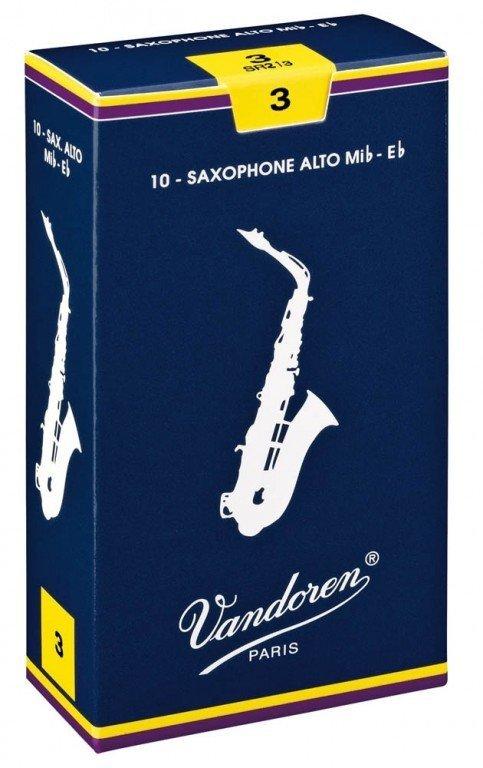 Vandoren Classic alt saxofon tvrdost 2