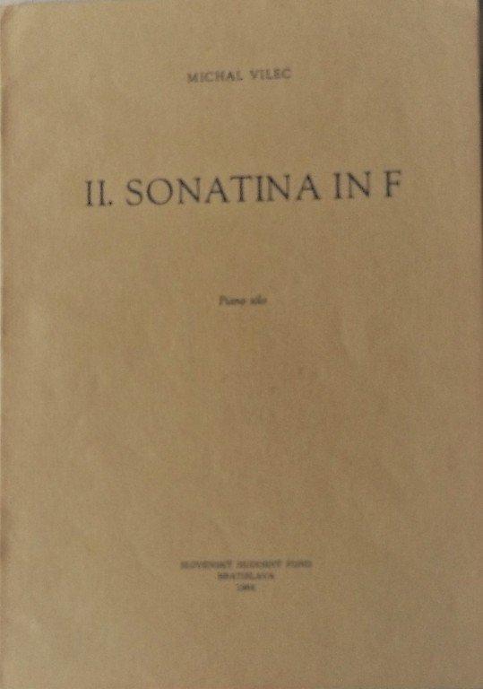 Vilec Michal : II. sonatina in F