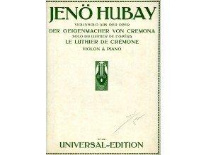 Hubay Jenö: Houslař z Cremony - opera: výstup houslaře