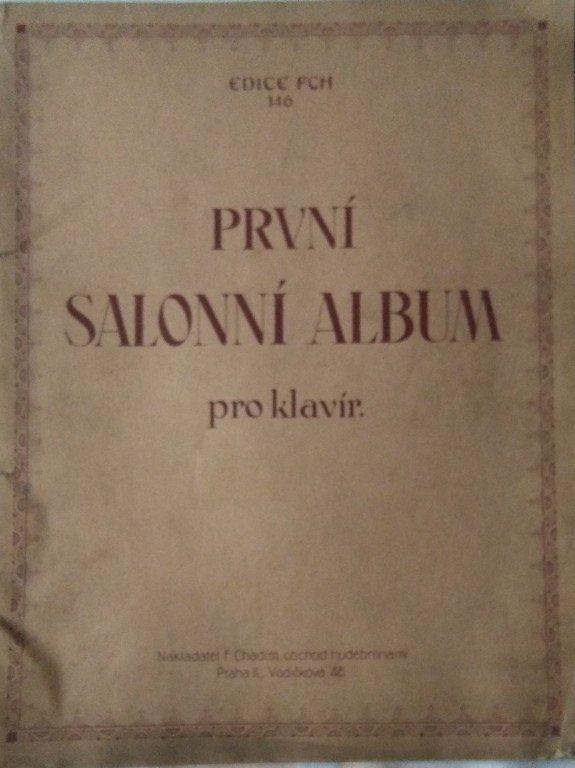Salonní album první pro klavír