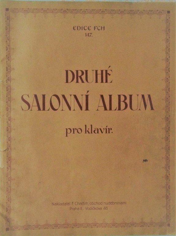 Salonní album druhé pro klavír