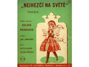 Jankovec Jar.: Nejhezčí na světě - tango