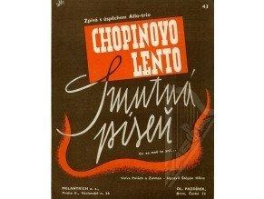 Chopin Fryderyk: Chopinovo Lento - Smutná píseň /1