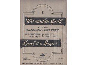 Igelhoff Peter-Steimel Adolf: Wir machen Musik-pomalý fox