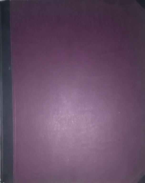Kniha sbírky skladeb pro zpěv a klavír