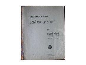 Smetana Bedřich: První písně
