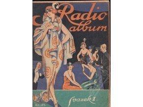 Radioalbum - sbírka svazků I.,III.,V., VIII.