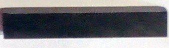Nultý pražec housle eben 36x6x6 polotovar