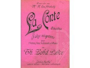 Palice T.Boh.: La Conte(Pohádka) :Valse mignone
