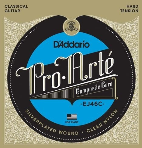 D'Addario EJ46C Pro-Arte Composite, Hard Tension
