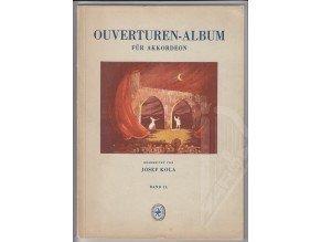 Ouverturen-Album für Akkordeon II.díl