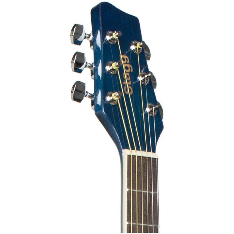 Stagg SA20D BLUE kytara akustická