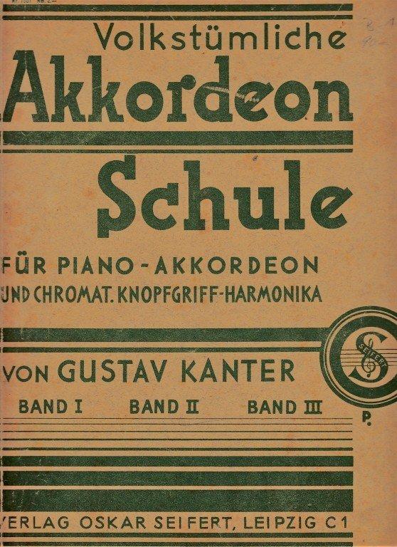 Akkordeon Schule - BAND II(?)