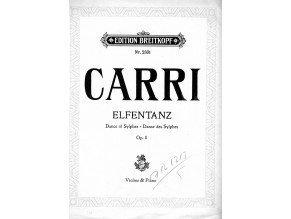 Carri Ferdinand: Elfentanz op.8