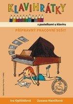 Klavihrátky - s pastelkami u klavíru - přípravný pracovní sešit