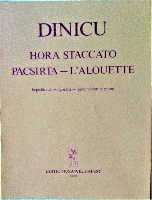 Dinicu G.I.: Hora staccato , Pacsirta - L'Aloulette