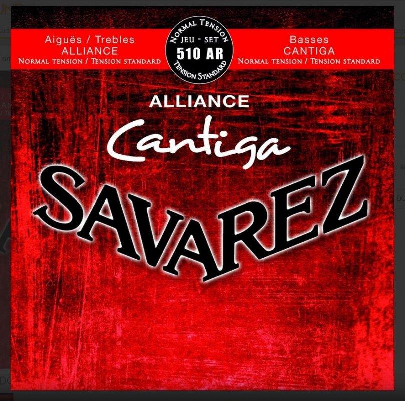 Savarez SA510 AR nylon struny Aliance Cantiga normal