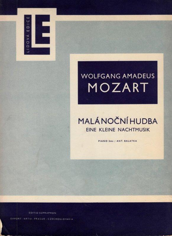 Mozart Wolfgang Amaadeus: Malá noční hudba