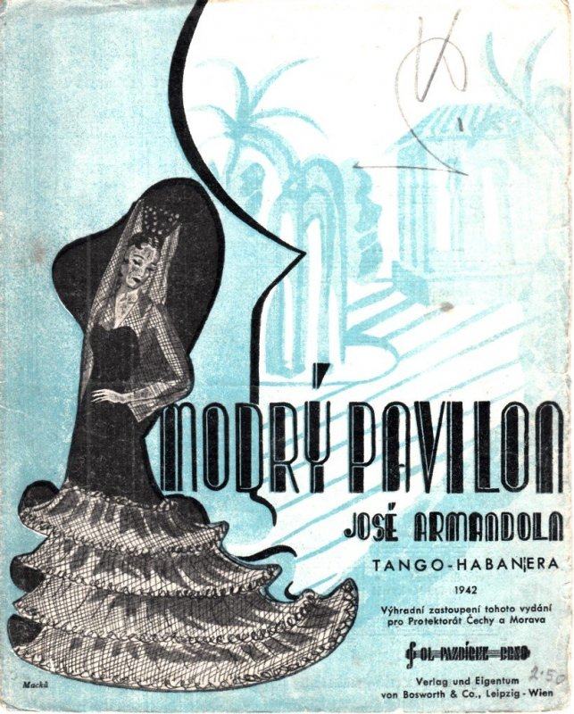 Armandola José: Modrý pavilon - tango-habanera /1